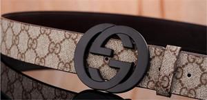 2019 European and American fashion brand belt black gold buckle popular belt free shipping 226