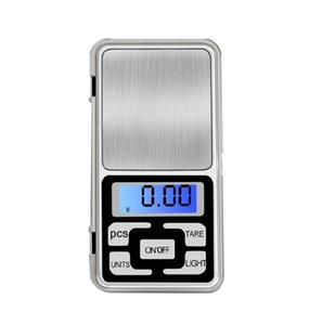 Digital Scale 500g / 0.1g Jewelry mini Digital elettronica Pocket scala che pesa la funzione di conteggio LCD blu g / tl / oz / ct