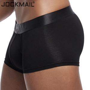 게이 남성 팬티 cuecas 고체 사각 팬티 남성 모달 소프트 팬티 반바지 남성 트렁크 복서 JOCKMAIL 새로운 섹시한 남성 속옷