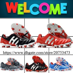Predator Mania VI Mens FG Soccer Shoes Football Cleats High Quality Firm Ground Outdoor Leather Soccer Boots 6.5-11.5