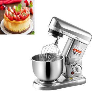 LEWIAOThe en popüler 10L Paslanmaz çelik kazan 3 vitesli Mutfak Gıda Mikser Krem Yumurta Çırpma Blender Kek Hamur Ekmek Mikseri Machine Standı