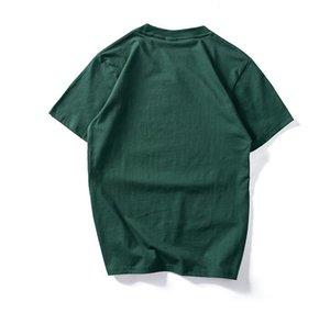 Impresso Virgem Maria Algodão Nova marca Camisa Engraçado Tshirts Curto Mens Summer Summer Top Verão Casual Manga Designer Tops Tees Streetwear VDMTO