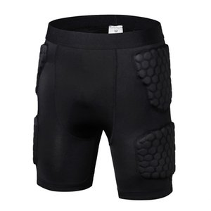 Sports Shorts Pants Honeycomb Anti-collision Quick Dry Short Trousers Sportswear Apparel Clothing