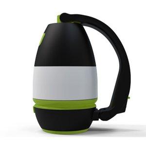 Многофункциональный Настольные лампы 3 В 1 LED Палатка Лампа для кемпинга Лампа аварийного освещения дома USB перезаряжаемые портативный фонариков ZZA2337