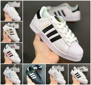 209 Originals Superstar bianco Ologramma iridescenti Junior Superstars '80 Orgoglio Sneakers Super Star delle donne degli uomini di sport dei pattini casuali EUR 36-44