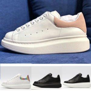 Luxury McQueen boost adidas yeezy supreme off white vintage star women shoes slipper designer red bottoms riflettente Scarpe con plateau Aumento di altezza con suola spessa
