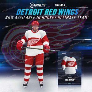6 6 Jersey Detroit Red Wings 71 DylanLarkin 14 Gustav Nyquist 35 Jimmy Howard 72 Andreas Athanasiou 43 Darren Helm Hockey-Trikots