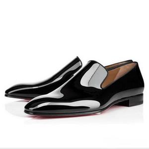 Бренд дизайнер джентльмен партии Bussiness платье на скольжениях на мокасинах обувь одуванчик кроссовки красный дн Оксфорд роскошный мужской досуг моды