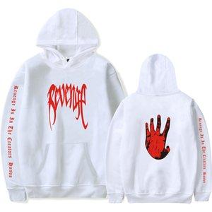 XXXTENTACION Rapper commémorative Sweat-shirt XXX REVENGE lettre mains Palm Imprimer Pull à capuche Homme Femme Mode Hoodies Conception