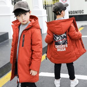 Kids Winter Jacket -30 degree Cotton Padded Jacket For Boy Snowsuit Kids Parka waterproof Warm Thicken Coat TZ556