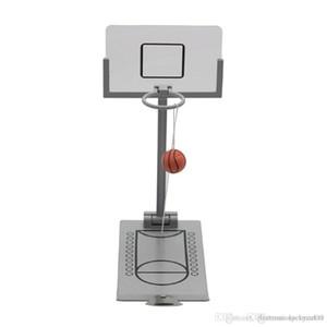 Basketbol Makinası Oyuncak Ofis Okul Dekompresyon azaltılması Şanslı Mini Masaüstü Katlama