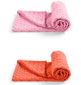 Microfiber Yoga Mat Towel Yoga No Slip Mat Towel With Carrying Mesh Bag Highly Absorbent Microfiber Gym Towel 72x24""