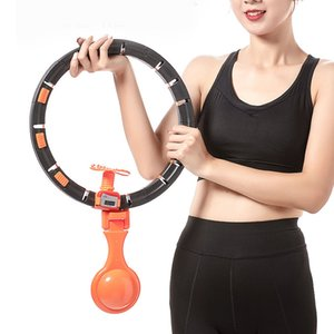 Electric intelligent hula hoop that can't be dropped, slimming waist beautifying women's abdomen retracting and weight reducing device