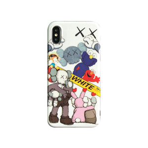 Cartoon Pattern Phone Cover TPU Phone Protect Cover Case for IPhone 6 7 8 Plus X XR XS Max