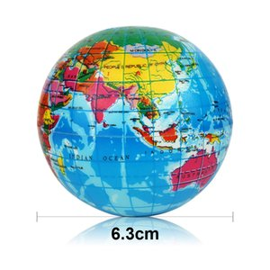 Yumuşacık Oyuncak Yumuşak Pelte Popüler Sürpriz Çocuk Spor Stres Giderici Antistres Dekor Dünya Haritası Köpük Dünya Yenilikçi Gag Oyuncaklar Top