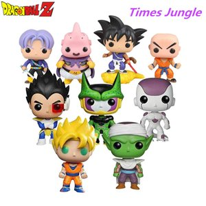 9 Style Dragon Ball Z Action Figure Goku Vegeta Buu Krillin Cell Piccolo Torankusu Action Doll Super Saiyan Model Toy Gift Y191105