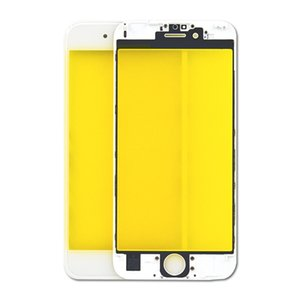 Front Touch Screen Panel Outer Glass Lens with Cold Press Middle Frame Bezel Screen Replacement For iPhone 5 6 6s 7 8 plus LCD glass