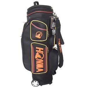جديد رجل لعبة غولف حقيبة قياسي قابل للتعديل HONMA نوادي الغولف حقيبة 9.5in كيس نايلون بكرة بالإضافة إلى لعبة غولف غطاء المطر الحرة الشحن