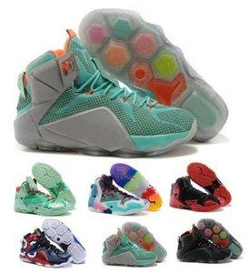 Chaussures de basket-ball Chaussures de sport gris Ce que les Lebrones 11 12 Christmas Heat Jeu de données NSRL South Beach 2020 à l'extérieur Homme Hommes Chaussures pas cher