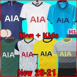 Tottenham hotspur spurs soccer jersey football shirt KANE maillot de foot 2020 2021 ERIKSEN DELE SON DIER 20 21 maillots de football troisième tiers de la hommes + enfants enfant