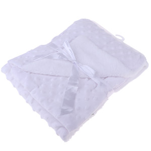 Baby Super Soft Bubble Blanket Newborn Boys Girls Cot Blanket Comforter Wrap