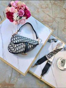 Europea de manera femenino de la bolsa de asas grande de cuero 2020 nueva calidad del diseñador de las mujeres del bolso de hombro de gran capacidad etiquetas monedero bolsa de mensajero 76