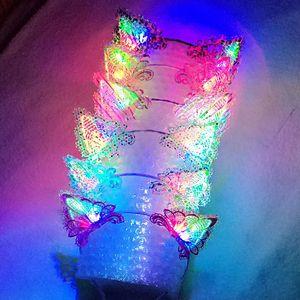Lovely Cat Ears Bandeaux pour les filles LED Light Bandeau Parti Fournitures Bande De Cheveux Fan De Football Bravo Halloween Cadeaux De Noël