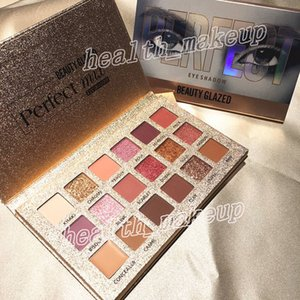 makeup Beauty Glazed eye shadow palette perfect 18 Colors makeup eyeshadow Ultra shimmer highly pigmented Eyeshadow nude Pro Eyes Cosmetic