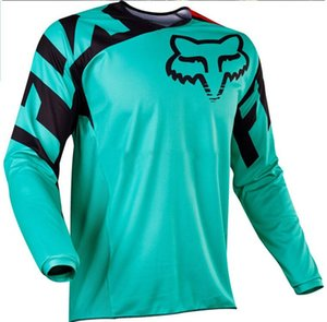 FOX 2020 TLD nuevo descenso de la ropa de la ropa tapas de aluminio de ciclo fuera de la carretera de la motocicleta de carreras de secado rápido de montar la camiseta