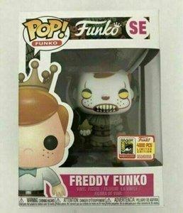 LXH 2019 Hot Funko l'action Pop Vinyl Figure Freddy Funko Pennywise SDCC LE4000 Marque Nouveau jouet avec la boîte