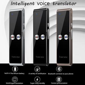 Miglior T8 di vendita mini portatile senza fili intelligente traduttore 68 Lingue bidirezionale Tempo reale istantaneo Voice Translator APP Bluetooth Multi-Language