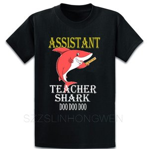 Maître Shark Doo Doo Doo T-shirt professeur assistant Personnaliser O-Neck Spring Respirant Solide Couleur de la famille Chemise à manches courtes