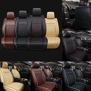 Drop Ship Multicolor Car Front Seat Covers PU Leather Universal Seat Cushion Soft Protector V-Best
