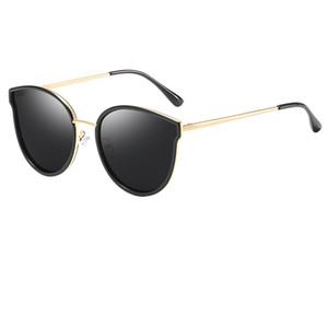 دليل المليونير النظارات الشمسية الرجعية الذهب الإطار القط العين نظارات السيدات العلامة التجارية مصمم hd نظارات شمسية أعلى جودة نظارات