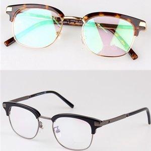Gafas de sol con montura óptica MB Brand Men MB686 Gafas de montura para mujer con lente transparente Oro Plata Gafas de miopía para hombre Gafas con caja original
