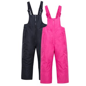 ski Pants Kids Boys And Girls Outdoor Thicken Windproof Waterproof Warm Snow Children Trousers Winter Skiing And Snowboard Pants