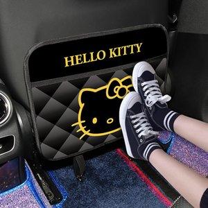 1PC автомобилей Организатор Anti-удар Pad Авто сиденья задняя крышка протектор Kitty Cat Anti-ребенок-удар Pad водонепроницаемый удар Мат Автоаксессуары