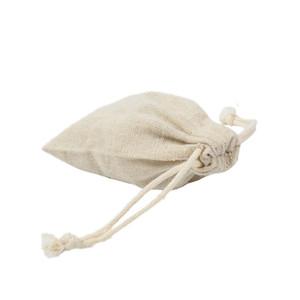 재사용 가능한 코 튼 머 랭 선물 가방 캔디 커피 콩 허브 티 포장 결혼식 호의 가방 린 넨 Drawstring 주머니