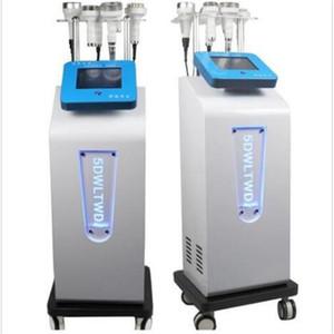 Multi-función Face Lift cavitación ultrasónica 5D Talla Instrumento Rf cuerpo de la aspiradora que forma adelgazando el chorro de grasa máquina