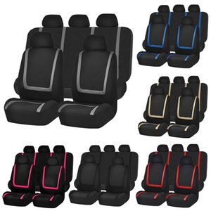 Universal Car Seat Cover poliestere Automobile Seat Covers sedile del veicolo Protector Accessori Interni