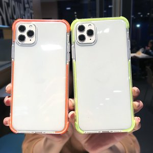 2020 Full Body Clear Case For iPhone 11 Pro Max X XS XR XS Max 11 7 8 6s 6 Plus Dual Layers Shockproof Transparent Soft Back Cover