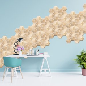 Explosion Models 3d Stereo Tile Stickers Anti-collision Stickers Pvc Wall Sticke 2020 Home Wall Sticker Room Decoration
