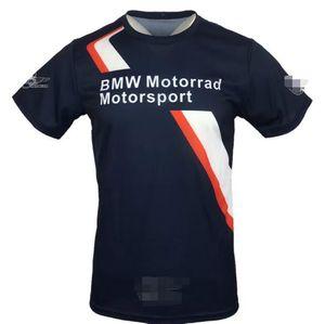 2019 Sommer-neuer BMW T-Shirt BMW Motorrad Wear kurze Hülsen-beiläufiges Top Off-Road Cycling Jersey Racing Wear Breathable Art und Weise