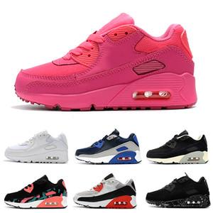 Nike air max 90 Детские кроссовки Presto 90 II Kids Кроссовки Черно-белые кроссовки Baby Infant 90 Детская спортивная обувь для девочек мальчиков Молодежный тренер