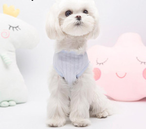 New style fun spring and summer baby cotton pet baby dog belly clothes cotton thin light breathable surgical gown cat teddy pet clothing