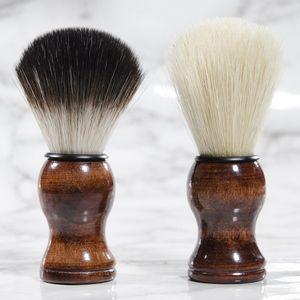 Premium Quality Badger Бритье кисть Портативной Борода Кисть лицо Борода очистка Мужчина бритье Бритва Щетка для чистки прибор Инструменты RRA2386