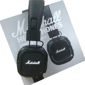 Marshall Major II 2 headphones With Mic Deep Bass DJ Hi-Fi Headphone Hi Headset Professional Earphone For Iphone X 8 Plus Note8 S9+
