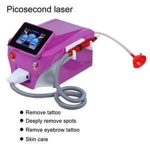 Picosure laser Nd de détatouage laser machine 4 Wavelength 532nm 755nm 1064nm Équipement Laser picoseconde 1320 nm avec le carbone Peel