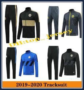 2019 INTER Mens Fußballtrainingsnazuginstallationssätze Jacken Sets ICARDI Nainggolan CANDREVR Anzug Jacke tuta sportiva 19 20
