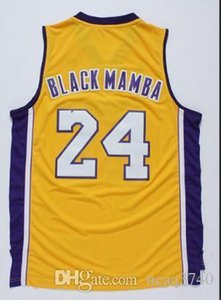 Custom Men Youth women Vintage mamba out k b College basketball Jersey Size S-4XL or custom any name or number jersey
